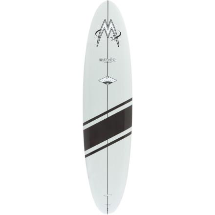 Surf Whether you're a longboarder-at-heart, vet, or newbie, you'll appreciate the Surftech McTavish Carver TL Surfboard, inspired by Bob McTavish's original longboard design. Its reliable bottom shape features a three-stage rocker, single-to-double concaves, and bevels that enable the Carver to excel in small to large surf. Run it with a center fin, dual with trailer, or tri setup depending on the conditions or simply on how you feel that day. - $899.96