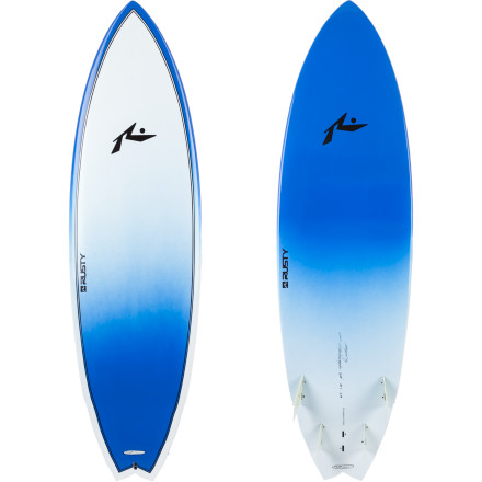 Surf When Surftech's fused-cell EPS core meets pro-shaper Rusty Preisendorfer's Piranha shell, the result is a lightweight, durable short board that's swaddled in an easy-to-mend epoxy shell. This aggressive wave-killer glides quickly and cuts quicker, thanks to its three-wing, pulled-in swallow tail. - $774.95