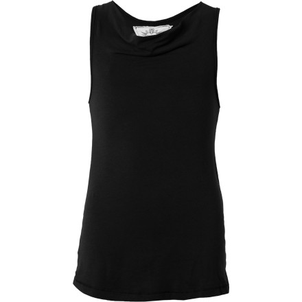 Surf The T2Love Girls' Cowl Neck Tunic Tank helps keep you relaxed when you attend your first boy/girl party. It's hard enough to talk to a boy, so you may as well look and feel as comfortable as possible. - $5.99