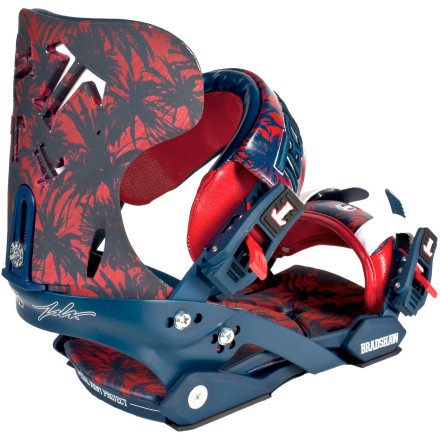 Snowboard The Technine vs. JSLV Collab Pro Snowboard binding is endorsed by T9/JSLV team riders Lucas Magoon and Chris Bradshaw for all-out destruction in the streets and the park. Match it up with the color-coordinated JSLV Collab snowboard for the ultimate limited-edition setup. - $155.97