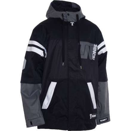 Snowboard Get your game tight in the Technine Football Jersey Jacket. This 10K-rated shell offers plenty of room to layer and a tonal color-block style that's MFM-approved for maximum freshness. - $99.98