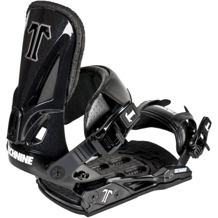 Snowboard Claim your crown as the king of the park with the Technine Split-T Snowboard Binding. Your subjects will bow down before your super-tweaked presses and boned-out grabs thanks to it's soft-flexing highback and baseplate, and the plush straps will have you feeling like royalty. - $101.97