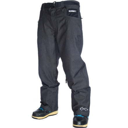 Snowboard Since when does 'denim' mean 'skinny and weird looking' The Technine Nines Denim Pant hooks up a fresh denim look with the loose fit you love from T9. Built-in waist adjustments offer a secure fit, even if you size up. - $107.97