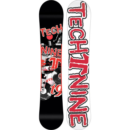 Snowboard Derek Dennison dug through the crates and found some of his favorite records to feature on the Technine Team Dennison Snowboard. The Dennison features a Rock Steady Flat Camber profile that lets you lock into slides and presses without sacrificing the pop you need to kick out the jams on the jump line. - $239.97