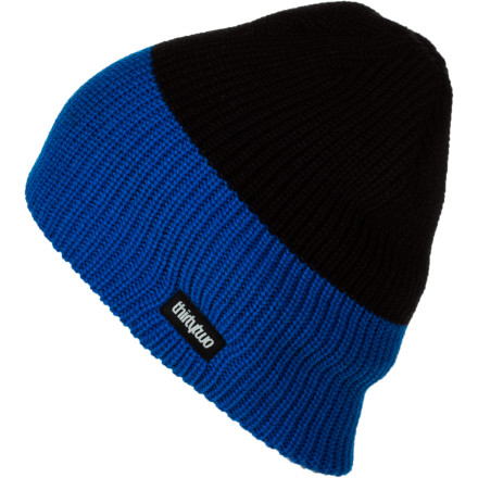 Why two tones on the Thirty Two Two Tone Beanie It's for the same reason that we all want to have two of ourselves. It's just kick-ass. - $10.77