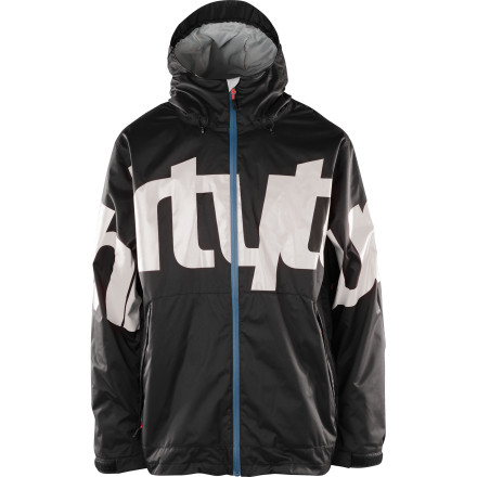 Snowboard Show your love for ThirtyTwo with the Lowdown 2 Men's Snowboard Jacket. Big block lettering lets everyone know who you support, and ThirtyTwo supports you back with 10K-rated fabric to keep you dry when you're out all day spreading the good word about your favorite company. - $116.97