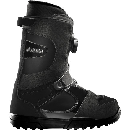 Snowboard The ThirtyTwo STW Boa Boot is so easy to fasten thanks to the lightning-fast closure of the Boa system reel, it may feel like cheating. But don't worry, the guilt will quickly go away when you're on your second lap through the powder and the guy who parked next to you is still fumbling with his boots. - $107.97