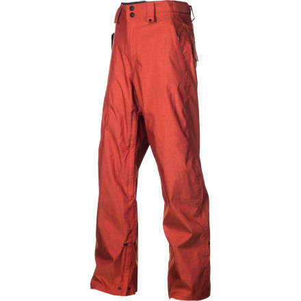 Snowboard ThirtyTwo didn't load the Slauson Snowboard Pant up with a  bunch extra junk that you don't need because you don't need it. The Slauson is a back-to-basics, get out and ride snowboard pant that takes care of you when the weather gets tough. - $71.98