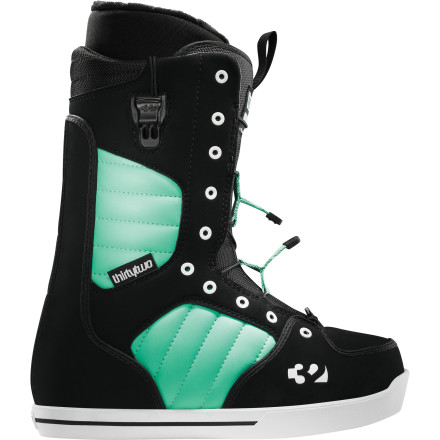 Snowboard The ThirtyTwo Women's 86 FT Snowboard Boot features a women-specific fit and medium-soft flex that's just as appropriate for the seasoned park rat as it is for the falling-leaf antics of the aspiring novice. In palce of a traditional lace, the 86 FT features ThirtyTwo's FastTrack lacing; a super-quick and secure lacing system that will save both your time and your hands. - $111.96