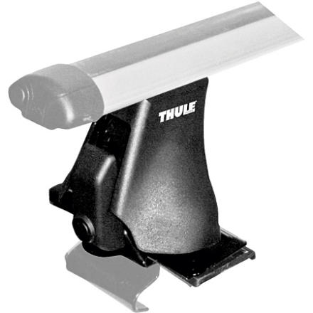 Entertainment The Thule Rapid Aero Foot Pack includes four towers to attach the Thule Rapid Aero Bars to your vehicle. This rack system from Thule integrates the tower and the load bars for a seamless look. The Rapid Aero Foot Pack needs car-specific brackets, pads, and load bars. The clips and pads are sold in Thule's Fit Kitthey clip around the edges of your roof. Since Thule's Fit Kits are made specifically for each vehicle please call our gearheads to ensure you're buying the proper Tower/Fit Kit/Load Bar set-up for your vehicle. - $170.96