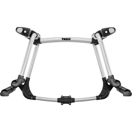 Ski Attach the Thule 9033 Project Tram Hitch Ski Carrier to your Thule Hitch Rack or Thule Spare Me Transport to get up to six pairs of skis or four snowboards to the mountain safely and without trashing the inside of your car. - $242.95
