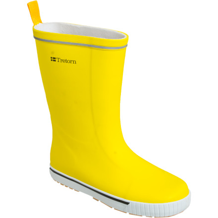 There's nothing scary about rain puddles when you have on the Tretorn\222s Skerry Women\222s Rain Boots. Your feet will stay bone-dry and comfortable protected by full rubber uppers, and grippy gum rubber outsoles prevent slips on wet surfaces. So go ahead; pull on the Skerry Rain Boot with the help of the rear nylon tab, and head outside to stomp in the biggest puddle you can find. - $44.96