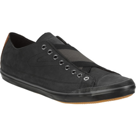 The Tretorn Skymra Leather Shoes mix classic design with a modern feel so you get a look that is unique and daring without being over the top. - $49.98