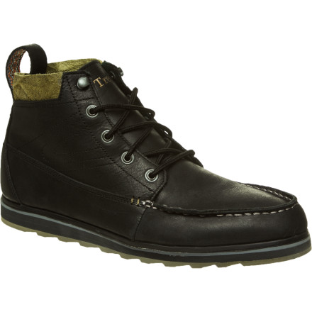 The Tretorn Holdyn Leather Boot is a between-seasons sneaker-boot hybrid. That means the Holdyn has the durability of a winter boot with the comfort of a sneaker. If that doesn't sound good to you, you've never worn shoes, which is either absolutely horrible or completely amazing. - $89.97