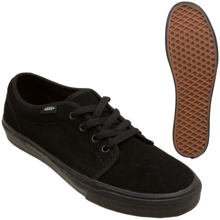Skateboard Old school lace-up skate style for the geezer in you. Thats the Vans 106 Vulcanized completing its mission, and thats pretty much all there is to say about this clean retro kick. Well, that and the fact that its canvas. - $32.97