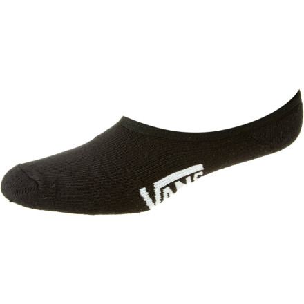 Skateboard Running sneakers with no socks looks pretty cool, but smells really bad. Thanks to the Vans Classic Super No Show Sock, you can run the low-pro look you want without the foot funk your roommates don't. - $7.95