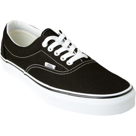 Skateboard Get your feet into the Vans Era Core Classic Skate Shoe when you want classic skate style and performance. The padded collar ups the comfort level so you can skate all day without your ankles getting rubbed raw, while the gum rubber outsole gives you plenty of grip. - $35.96