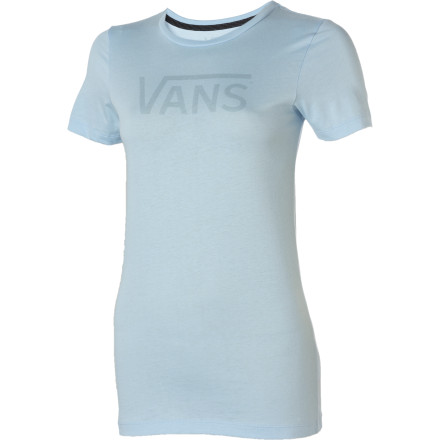 Skateboard When your head's pounding, reach for the comfy Vans Women's Allegiance Short-Sleeve T-Shirt and a cold glass of water. - $18.66