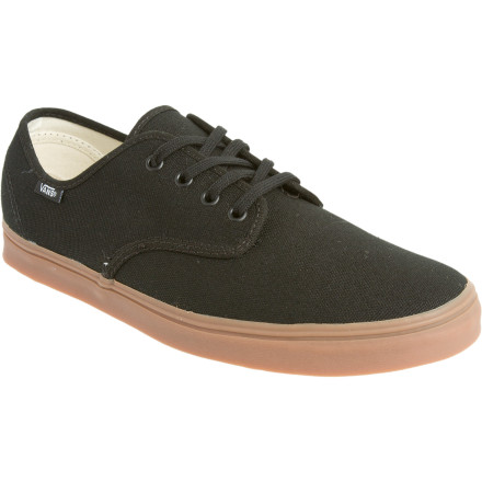 Skateboard With a lightweight and breathable canvas upper and a slim profile, the Vans Madero Shoe will ensure a proper fit and keep your foot from feeling like its wearing a brick. The Madero features a wing-tongue design on the toe box for increased life, decreased pressure, and uninterrupted flex. - $38.47