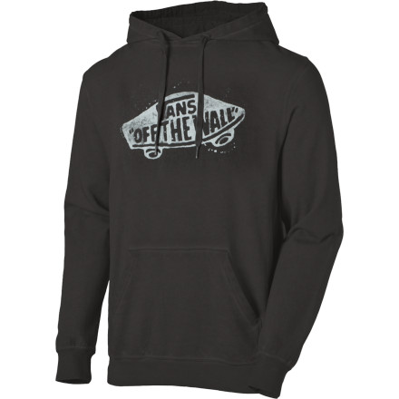 Skateboard Classic, simple, and ready to go anywhere: the Vans Men's OTW Pullover Hoodie might not pair well with fine wines or complement your tasseled loafers, but that's not the point. - $35.67