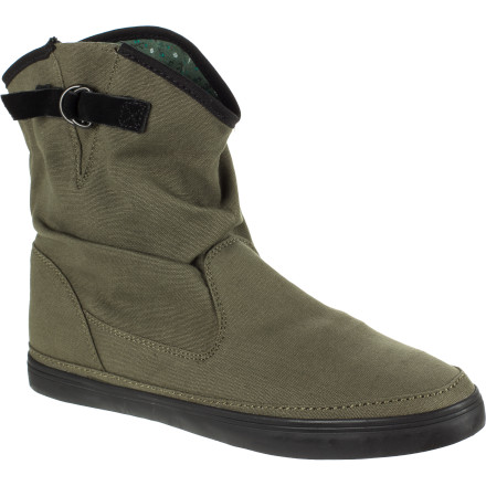 Entertainment Slip your feet into the Vans Women's Prairie Boots when you want to channel a bit of your inner cowgirl. Whether you pair them with a gingam dress or a sexy pair skinnies, these boots reflect your unique, fun-loving sense of style. - $44.97