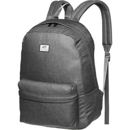 Camp and Hike No need for a multi-day expedition packyou're only going to school, after all. Instead, grab the clean and simple Vans Old Skool II Backpack, toss your books in the main compartment and your pens in the front pocket, and you're ready to head out the door. - $34.95