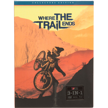 MTB Quite possibly the most ambitious and highly anticipated MTB video ever, Where The Trail Ends documents the front lines of freeride progression. Watch Darren Berrecloth, Cam Zink, Kurtis Sorge, and a whole bunch more of the world's best gravity riders seek out and obliterate new terrain all over the planet. - $29.95