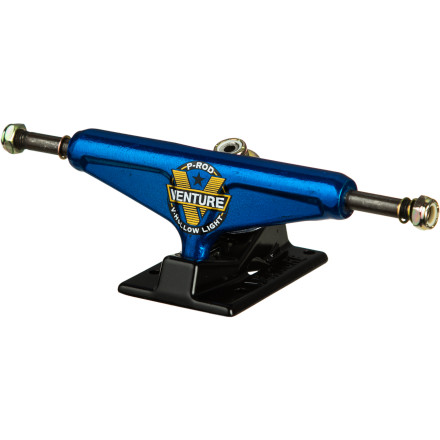 Skateboard P-Rod stacks footy and collects contest checks with his signature Thunder Spectrum V-Hollow Light Trucks. - $44.96