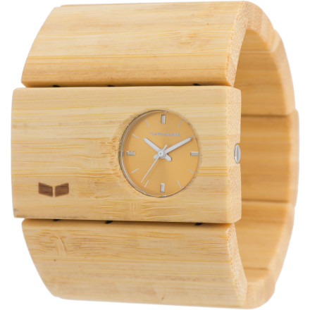Entertainment The Vestal Women's Rosewood Watch brings a timely twist to a fashionable and fun bracelet with 50mm-wide all-wood links, simple three-hand style, and quality construction. - $59.97