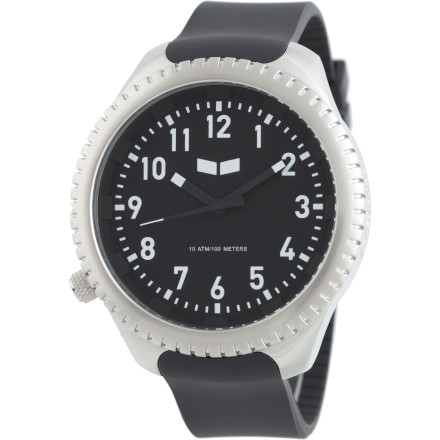 Entertainment Whether you're sporting air tanks, a wetsuit, and flippers or just living large on the land, the Vestal Utilitarian Watch lives up to its name with versatile styling, durable construction, and reliable timekeeping. - $59.97