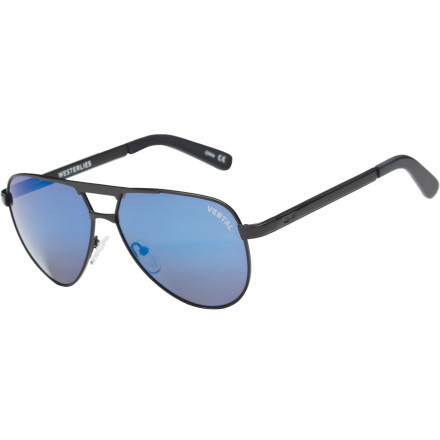 Entertainment From dogfights to flybys, the Vestal Westerlies Sunglasses give the classic aviators a modern makeover with acetate accents on the temples, quality CR-39 lenses, and Vestal's attention to detail. - $44.97