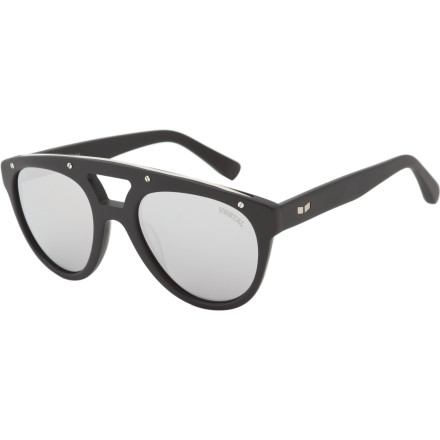 Entertainment Perhaps named after the vacationing blue blood that populated the once-great Salton Sea of California, the Vestal Salton Sunglasses feature a swanky vintage style with a modern purpose and construction to match. - $53.97