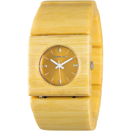 Entertainment The Vestal Rosewood Slim Women's Watch turns a functional accessory into a fashion statement. The housing and band are made from real wood for a lightweight feel and a look that can't be ignored. - $109.95
