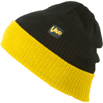 The Vivo Headwear Roller Beanie loves watching those badass ladies beat the hell outta each other in the roller rink. Throw it on and head out to take in the show. - $8.73