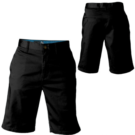 Skateboard The Volcom Men's Frickin Too Chino Short just keep coming back for more. With these classic walkshorts, Volcom brings you the soft feel and ballin fit of the Corpo Collection. - $44.95