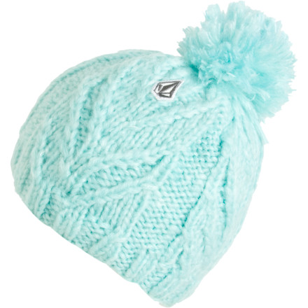 Surf The Volcom Women's Leaf Beanie was once a stand-in on Alf, which is pretty something. - $20.37