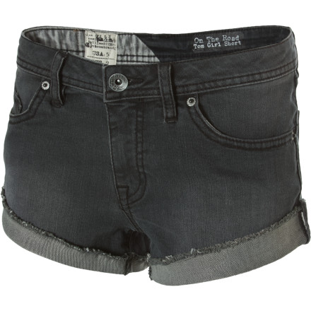 Surf When you want a pair of shorts that isn't up-the-butt tight, grab the Volcom On The Road Tom Girl Shorts. - $14.84