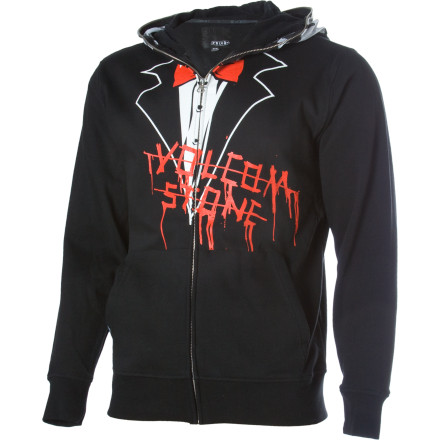 Surf Next time you roll into work late, remember to zip up your Volcom Fear Slim Hoody so nobody recognizes you. They'll just think it's another drunk zombie banging into walls and knocking shit over. - $35.75