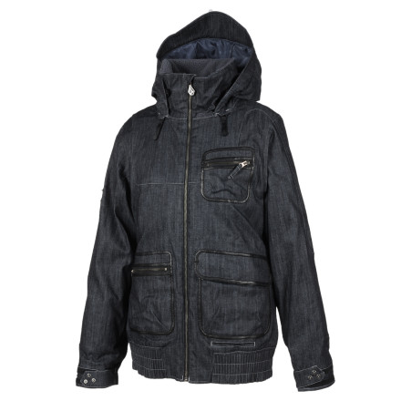 Snowboard Volcom didn't just pack the Women's Chapelle V.B.J. Jacket with 80g super-warm polyfill insulation, it also packed the Chapelle with features, versatility, and style. - $51.99