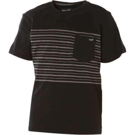 Surf Shake the Volcom Boys' Entrap Crew Shirt really, really ... really, hard. Did it give you a fortune No It must be broken. Thankfully these fine cotton threads make a great runner-up prize. - $8.84