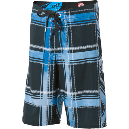 Surf Your boy might hate it when you chuck him into the pool, but when you get him the Volcom Boys' Plaiter Board Short he has no reason to complain. - $22.48