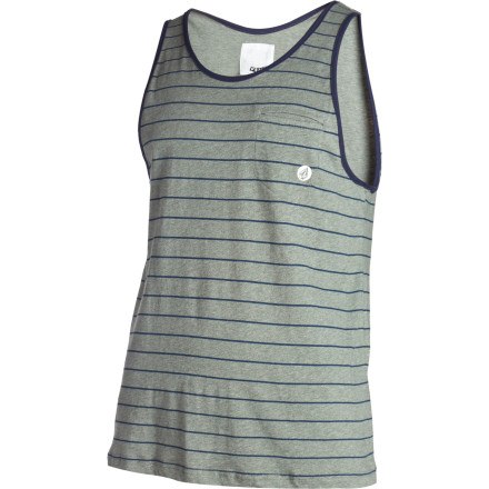 Surf Top your torso with the Volcom Men's Seafarer Tank Top because there aren't enough visible arms in the world right now. We'd like to see at least two more. - $16.20