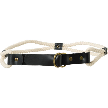 Entertainment Your Volcom Rope Burn Belt is sure to attract a lot of attention, so why not have a good story to go with it Next time someone admires this belt adorning your off-the-shoulder prairie dress or faded black jeans, tell her that a handsome cowboy lassoed you last night. - $11.23