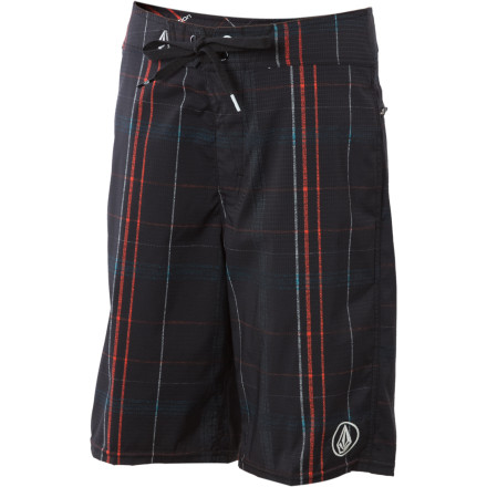 Surf At Camp Awesome Possum the kids go tubing, canoeing, and swimming in the lake on a daily basis. So don't drop your camper off for the summer without the Volcom Boys' Los Pockitos Board Short for him to wear from Reveille to Taps. - $19.78