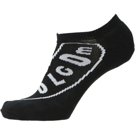 Skateboard If you're not into crew socks, but you can't handle funky odors and blisters, then get yourself Volcom's Men's Pistol Sock. - $6.71