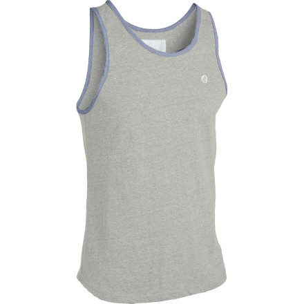 Surf Train for the fight of your life while wearing the Volcom Men's Rudi Tank Top. Soon you'll be eating raw eggs, pulling logs through the snow, and punching the air with vicious passion. You will be the champion of th... ah crap, sorry, wrong dramatic-success movie. - $17.67