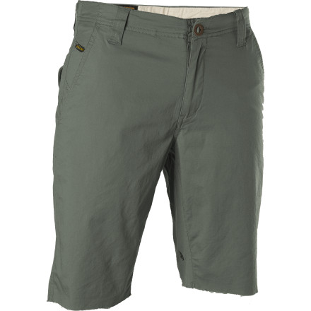 Surf If everything goes right, you'll be doing the opposite of work when you're rocking the workwear-inspired Volcom Roughwater Short. But should you happen to be slaving away, the Roughwater's clean looks and stretch material will help you get through the day. - $31.17