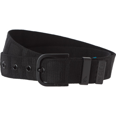 Surf Adding the Volcom Knows Webbing Belt to your getup improves your image and social standing, because it knows the people who know the people that can get you into the VIP room at the next movie premiere. - $16.77