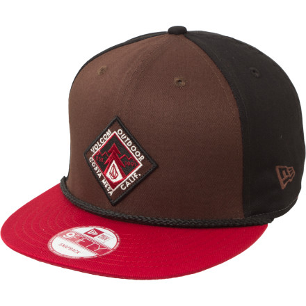 Surf The Volcom NE Patched 9Fifty Hat won't help you skate better, but it covers that bald spot on your head so those little middle-schoolers stop making fun of you. - $14.83