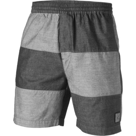 Surf Afternoons filled with beer and darts always go by quickly, and they can go by comfortably when you're lounging on the deck in your Volcom Clyde Short. - $22.48